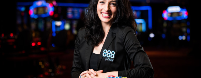 Poker broadcasting with Kara Scott
